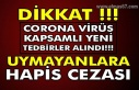 Dikkat !!! Corona virüs Kapsamlı yeni Tedbirler...