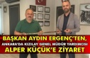 Başkan Aydın Ergenç'ten, Ankara'da Kızılay...