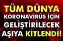 Tüm dünya koronavirüs için geliştirilecek aşıya...