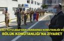 Vali Tutulmaz'dan Jandarma komutanlığı ve Bölük...