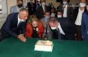 Ak Parti muhtarlar gününü pasta ile kutladı
