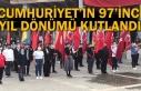 CUMHURİYET'İN 97'İNCİ YIL DÖNÜMÜ KUTLANDI