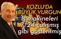 Kozlu'da büyük vurgun... İş makineleri 7/24...