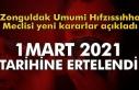 Zonguldak Umumi Hıfzıssıhha Meclisinden yeni kararlar