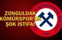Zonguldakspor'da şok istifa!