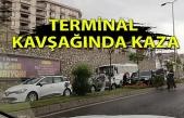 Terminal Kavşağı'nda kaza