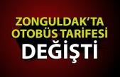 Zonguldak'ta otobüs fiyat tarifesi değişti
