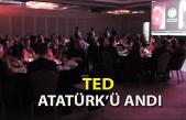 TED Koleji Atatürk'ü Andı