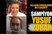 Yılların spikerlerini bile şaşırttı… Şampiyon Yusuf Zobar!