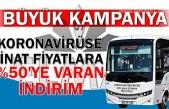 Zonguldak Belediyesi Halk Otobüsleri'nden DEV KAMPANYA!