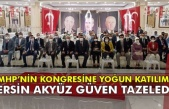MHP'NİN KONGRESİNE YOĞUN KATILIM...