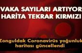 Korkutan harita... Zonguldak alarm veriyor