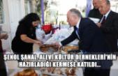 Şenol Şanal, Alevi Kültür Dernekleri'nin hazırladığı kermese katıldı...