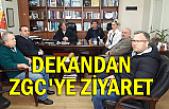 Dekandan ZGC'ye ziyaret