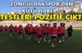Zonguldakspor'dan kötü haber... Testleri pozitif çıktı
