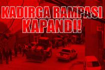 Kadırga rampasında asfalt işlemi başladı