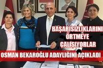 Osman Bekaroğlu adaylığını açıkladı