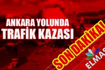 Zonguldak-Ankara istikametinde trafik kazası