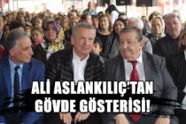 Ali Aslankılıç'tan gövde gösterisi!