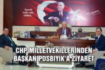 Chp Milletvekillerinden Başkan Posbıyık'a ziyaret..