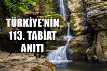 Türkiye'nin 113. Tabiat Anıtı