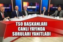Zonguldak nereye gidiyor? TSO Başkanları Canlı yayında soruları yanıtladı!
