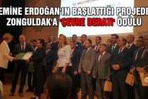 Emine Erdoğan'ın başlattığı projede Zonguldak'a 'Çevre Beratı' ödülü...