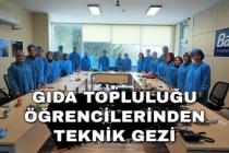 Gıda Topluluğu Öğrencilerinden Teknik Gezi