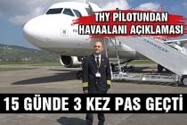 THY pilotundan Zonguldak Havaalanı açıklaması