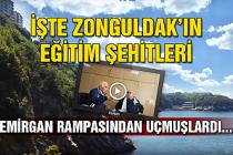 İşte Zonguldak'ın eğitim şehitleri... Emirgan Rampası'ndan uçmuşlardı...