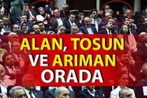 AK Parti Zonguldak yöneticileri ve belediye başkanı Erdoğan'ın il başkanları toplantısında