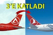 Atlasglobal Zonguldak'ta THY'yi 3'e katladı