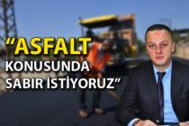 Başkan Ömer Selim Alan: Asfalt için 2 yıla ihtiyacımız var