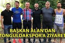 Başkan Alan'dan Zonguldakspor'a ziyaret