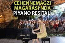 Beyza Yazgan'dan Cehennemağzı Mağarası'nda piyano resitali