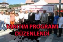 Devrek Devlet Hastanesi'nden tanıtım programı
