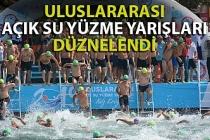 Ereğli'de 2. Uluslararası Açık Su Yüzme Yarışları