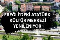 Ereğli'deki Atatürk Kültür Merkezi binası yenileniyor