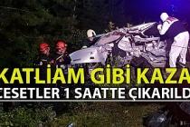 Karabük'te feci kaza: 2 ölü, 2 yaralı