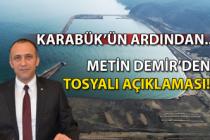 Karabük'ün ardından… Metin Demir'den Tosyalı açıklaması!
