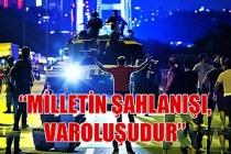 """Miiletvekili Polat Türkmen; """"Milletin şahlanışı, varoluşudur"""""""