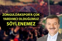 Milletvekili Polat Türkmen: ''Zonguldakspor'un derdi hepimizin derdi''