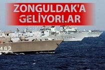 NATO askeri gemileri Ereğli Limanı'nda