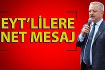 Polat Türkmen'den EYT açıklaması