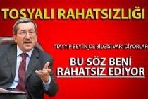 Vergili: 'Tayyip Bey'in haberi varmış, ben Karabük'e bakarım'