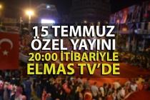 Zonguldak 15 Temmuz etkinlikleri Elmas TV'de