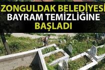 Zonguldak Belediyesi bayram temizliğine başladı
