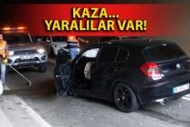 Zonguldaklı personel Artvin'de kaza yaptı