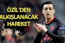 Zonguldaklı ünlü futbolcu Mesut Özil'den alkışlanacak hareket