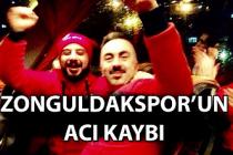 Zonguldakspor'un acı kaybı!